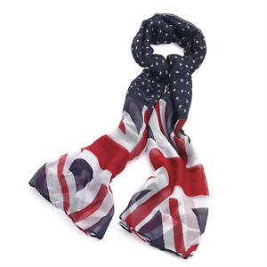 Union Jack Womens London Fashion Fashion Scarf Wrap Shawl Maxi Sarong