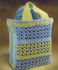 Crochet Pattern ~ BEACH BAG BINGO, Tote ~ Instructions eBay