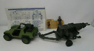 1984 Vamp Jeep HAL G.I. JOE COBRA 100% Complete Vintage Original SEARS Exclusive
