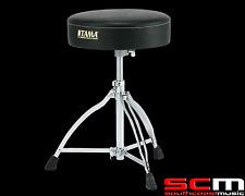 TAMA HT130 Drum Throne Stool Chair Seat Drumthrone CHROME TRIPOD Drumstool