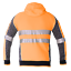 Hi-Vis-Jacket-Hoodie-Jumper-3M-Reflective-Fleece-Zip-AS-NZS-1906-4-4602-1-2011 thumbnail 5