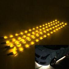 1 6pcs Led Strip Color Under Car Tube Underglow Underbody System Neon Lights Kit