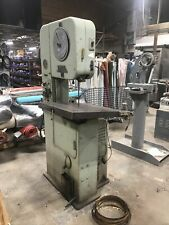 Doall Vertical Band Saw Model Ml 20 Table Serial 8451459c