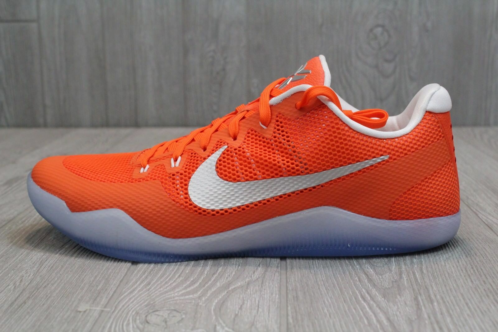 22 New Mens Nike Kobe XI 11 TB Basketball shoes orange White 9 - 15 856485-883