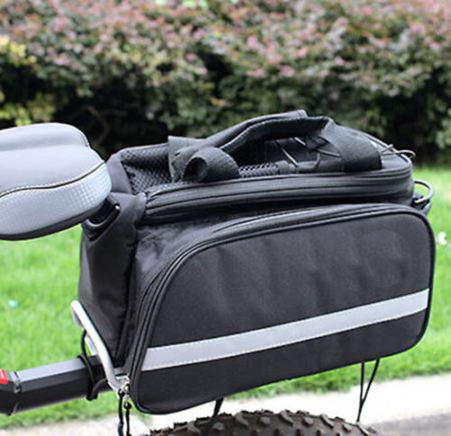 Multi-Functional Classic Bike Travel Bicycle Rear Seat Pannier Bag Rain Cover