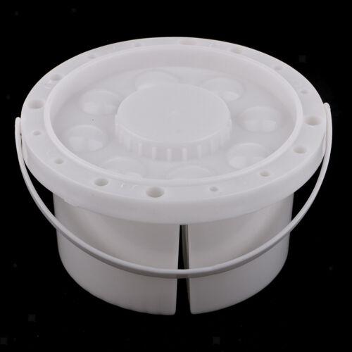 Tragbare Mobiler Pinselwascher Pinselbecher aus Kunststoff