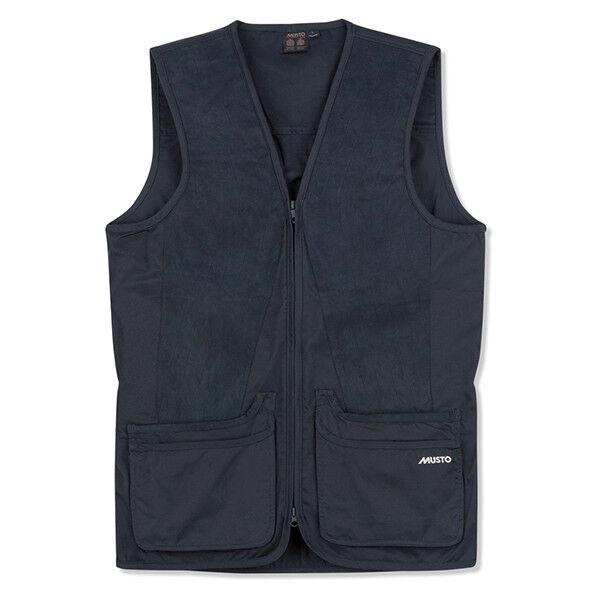 Musto Clay Shooting Vest - True Navy - Sizes  S to XXXL