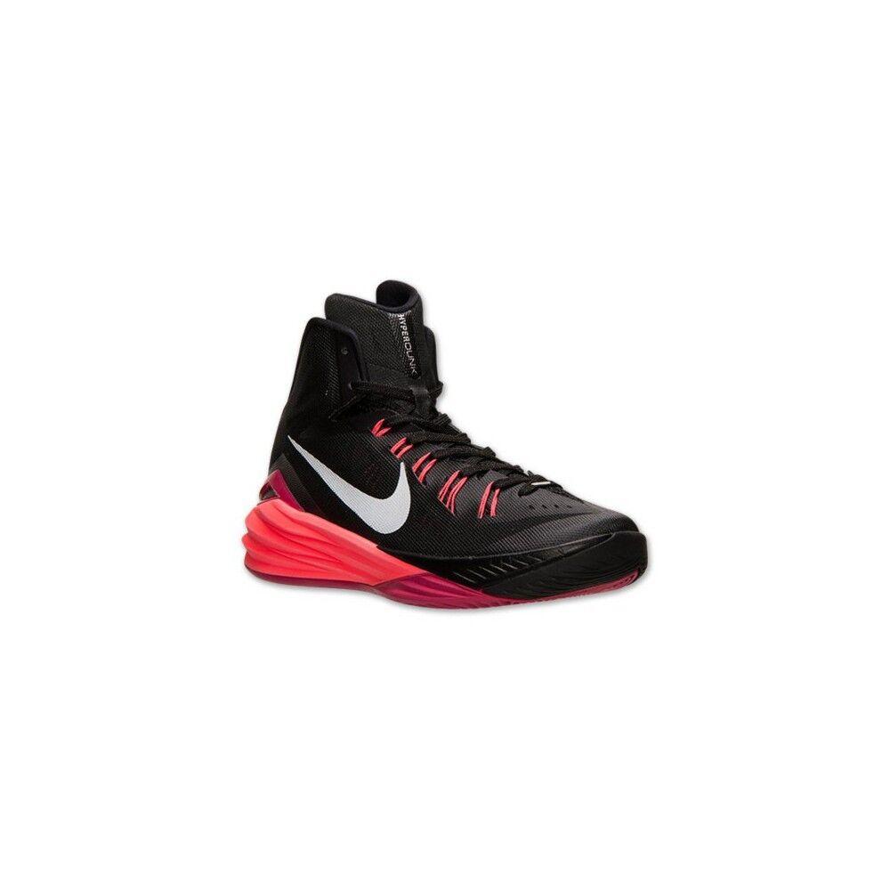 NEW Mens Nike Black Hyper Punch Fuschsia Hyperdunk 2014 Basketball shoes  140
