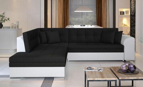 Ecksofa Eckcouch Couch Sofa Schlaffunktion Ottomane Farbe wählbar 68226938