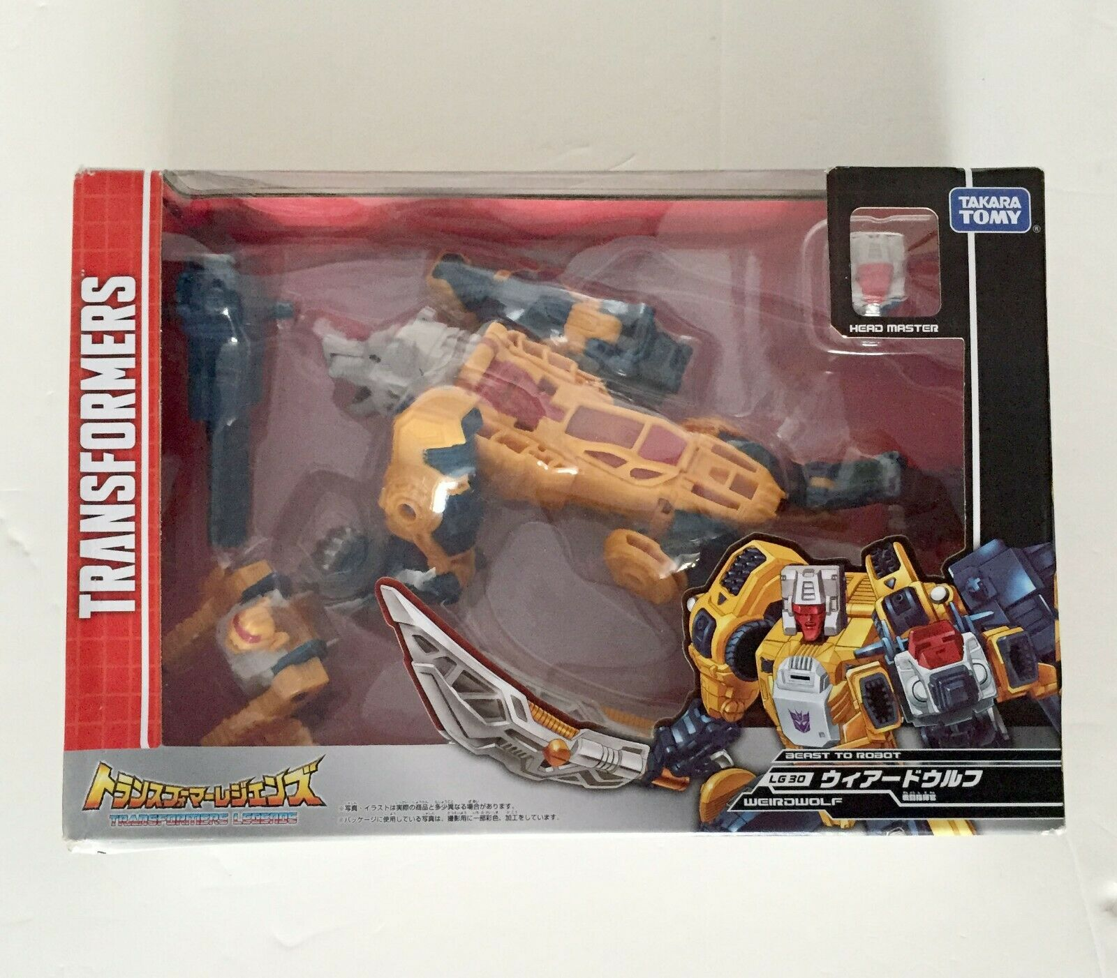 Transformers Takara Takara Takara Legends Titans Return LG30 Weirdwolf b92699