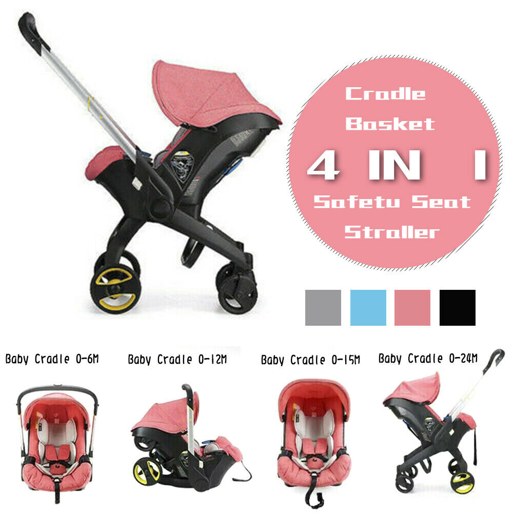 Portable 3/4 in1 New Born Baby Stroller Car Safety Seat Stro