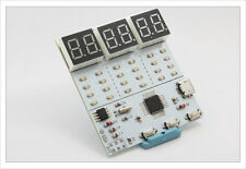 DIY electronic Kit -  Binary Clock 24 LED atmega8 real time DS1302 SMD Arduino