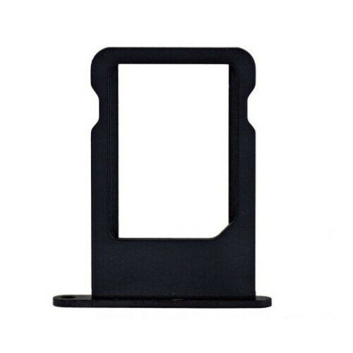 Para Apple iPhone 5 5S Nano Sim Card Bandeja Poseedor Slot Negro Reemplazo Parte