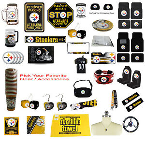 Brand New NFL Pittsburgh Steelers Pick Your Gear   Accessories ... 5ae56b18c