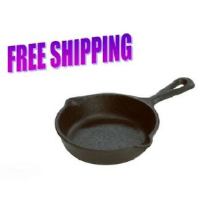 Lodge-3-5-Inch-Cast-Iron-Mini-Skillet-Miniature-Skillet-for-Individual-Meal-Use