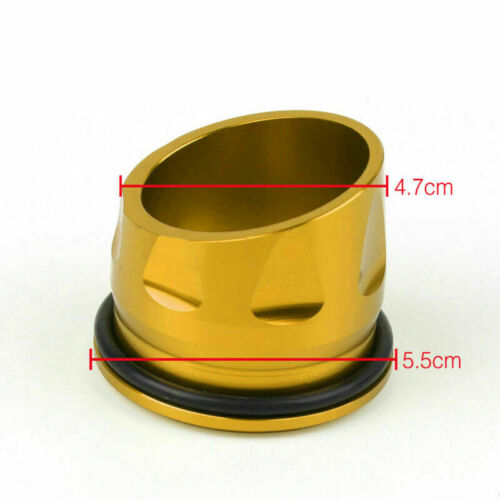 CNC Motorcycle Exhaust Tip Cover Gold Fit For Yamaha T-max 530 TMAX530 2012-2016