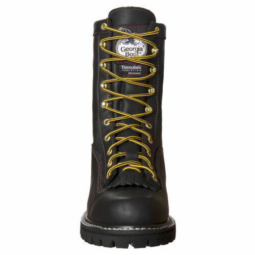 GEORGIA LACE-TO-TOE GORE-TEX® WATERPROOF INSULATED WORK BOOTS G8040 ALL SIZES