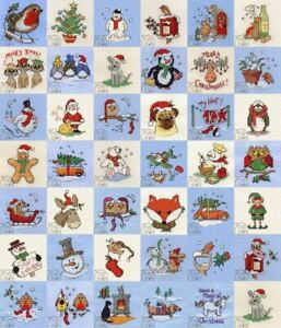 ~ CHRISTMAS RANGE ~ NEW MOUSELOFT STITCHLETS CROSS STITCH KIT ~ MEERY CHRISTMAS