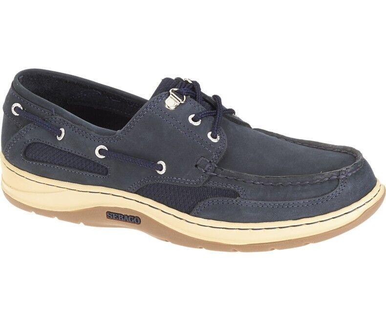 Sebago Clovehitch Shoe II Uomo Barca Deck Shoe Clovehitch B243600 Blu scuro Nubuck NUOVI 107f19