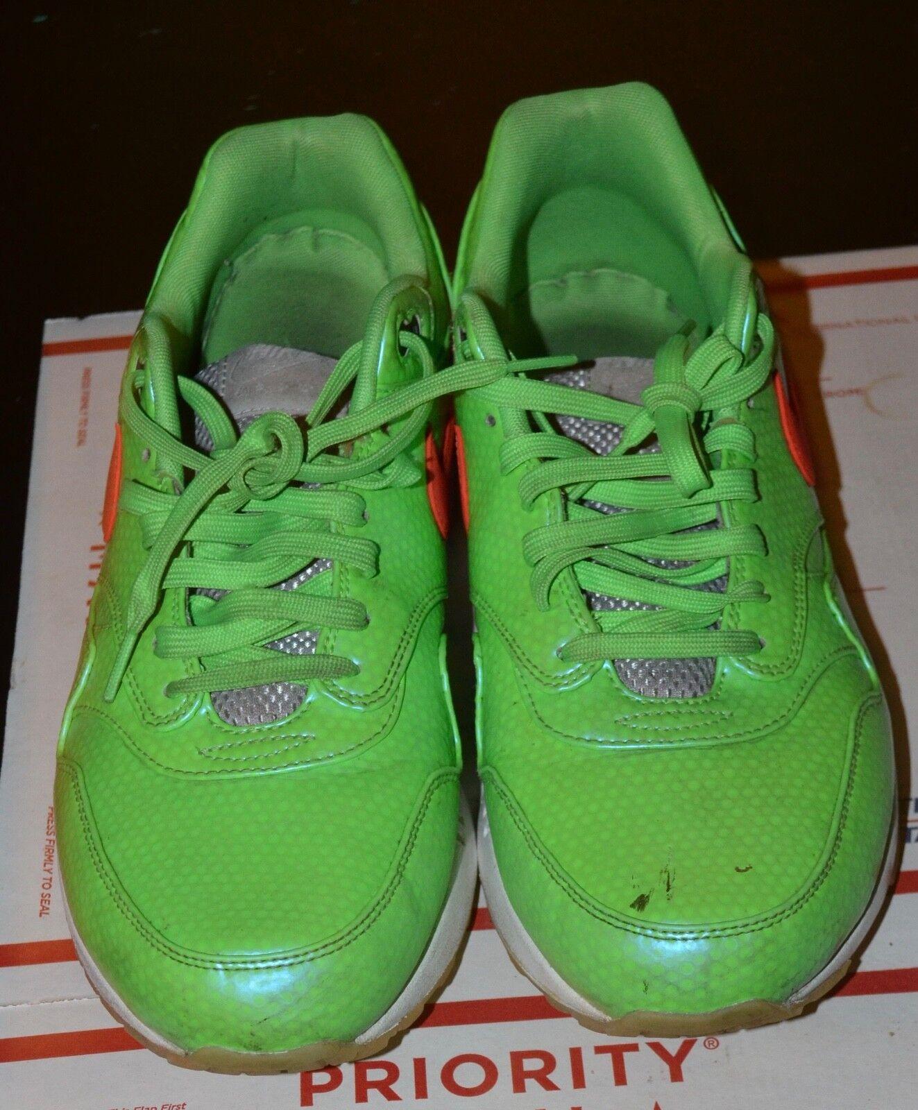 Nike Air Max 1 FB Premium QS Polarized Blue/Total Crimson-Neon Lime 665874 400
