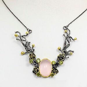 Collar-Recomendar-Natural-Cuarzo-Rosa-925-Plata-de-Ley-16-75