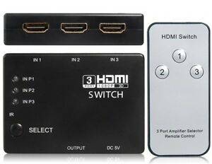 HDMI-3-Port-Switcher-Splitter-Switch-Hub-with-Remote-for-HDTV-PS3-Sky-Xbox-360