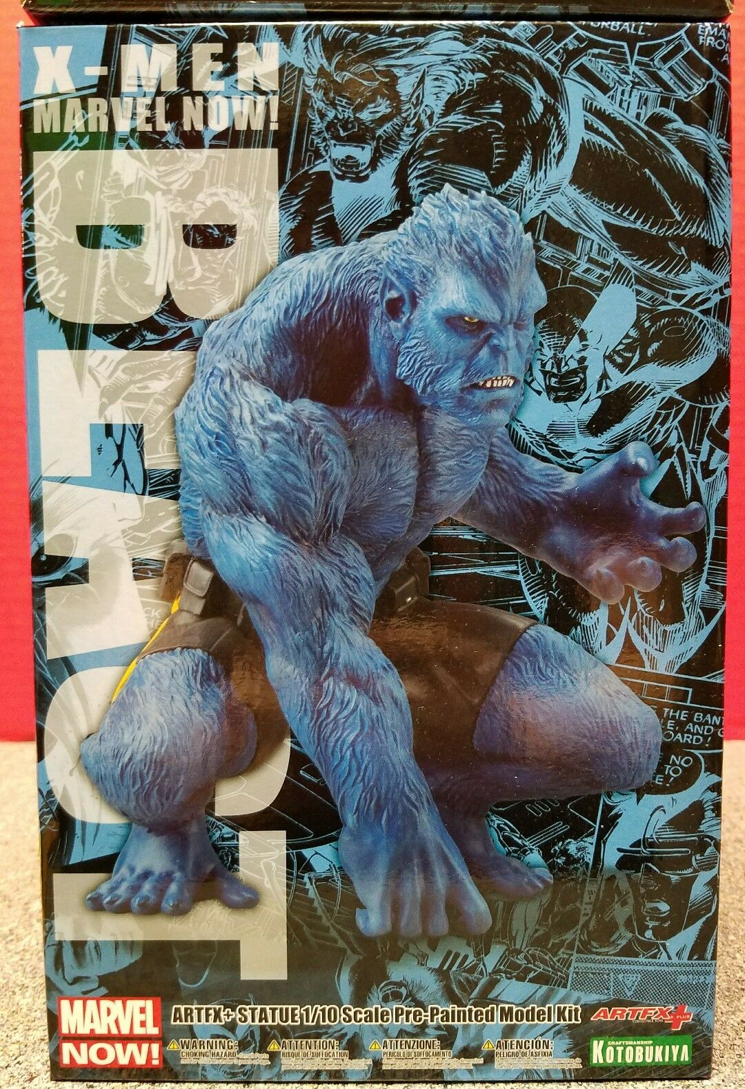X-Men Beast Figure 1/10 Scale 2015 ARTFX+  2015 Marvel Now  Kotobukiya Snap Fit