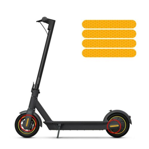 Reflective Stickers For Ninebot Max G30 Electric Scooter Reflector Accessory New