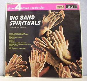 33-RPM-Big-Band-Spirituals-LP-12-034-Import-English-Jazz-Gospel-Decca-Phase-4