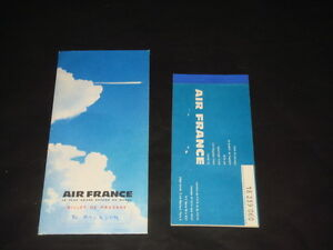Air france billet davion promotional giveaways