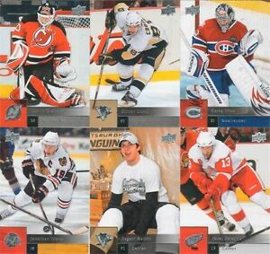 2009-2010-Upper-Deck-NHL-Hockey-Complete-Mint-Basic-Series-1-and-2-Set-400-Cards