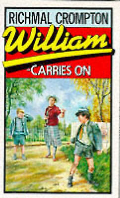 Crompton, Richmal, William Carries on, Mass Market Paperback, Very Good Book