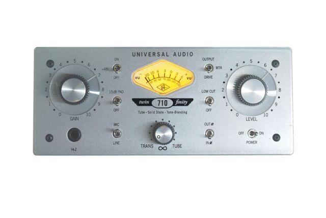 Universal Audio 710 Twin-Finity Tube Preamp