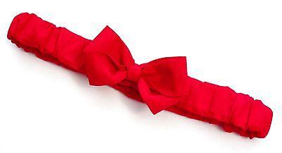 -: - Rosso Red Arruffato Cerchietto Fiocco -: - Tutte Le Taglie Disponibili Da Preemie Ad Adulto-mostra Il Titolo Originale Stile (In) Alla Moda;