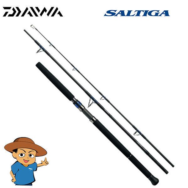 Daiwa Saltiga aire portátil J66HS 6' 6  Pesado Para Pesca Spinning Rod Polo