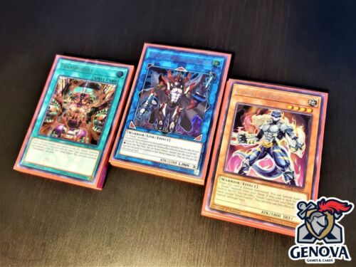 Yu-Gi-Oh! Pure Gouki Deck + New Sleeves Suprex Twistcobra Great Ogre NEW SUPPORT