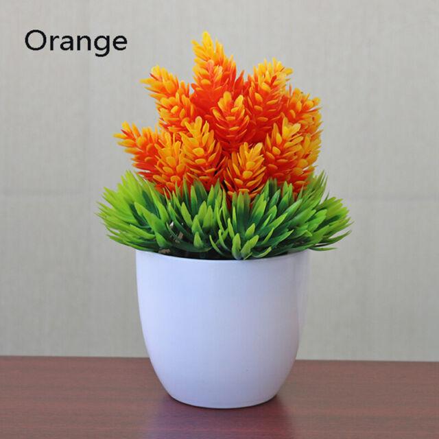 Mini Artificial Topiary Plants In Pot Small Plastic Fake Plant