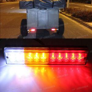 Pair-12V-luces-LED-indicador-de-Cola-Cola-de-Lampara-inversa-Remolque-Camion