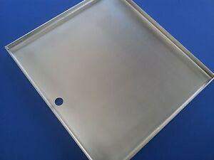STAINLESS-STEEL-BBQ-GRILL-HOT-PLATE-40-5-X-37-5-cm-304ss-GRADE-BRAND-NEW