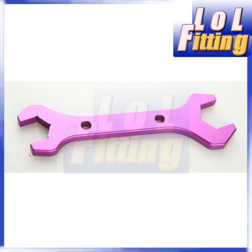 3AN TO 20AN BILLET ALUMINUM ALLOY AN WRENCHS SET DOUBLE ENDED SPANNER COLORFUL