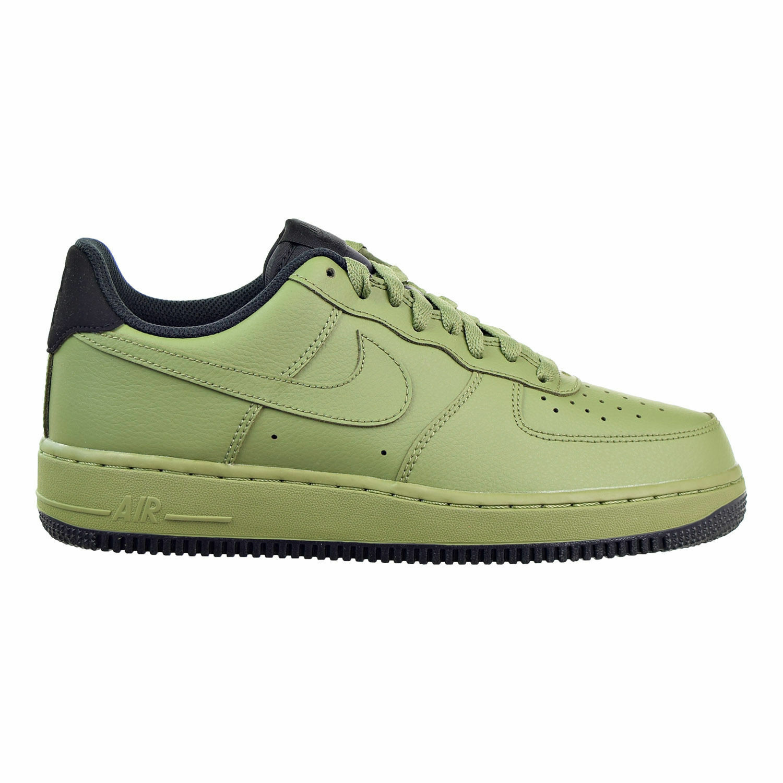 NIKE AIR FORCE 1 '07 PALM GREEN/BLACK MEN SIZE 9.5 NEW 315122 310