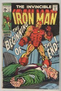 Iron-Man-17-September-1969-VG-1st-Madame-Masque