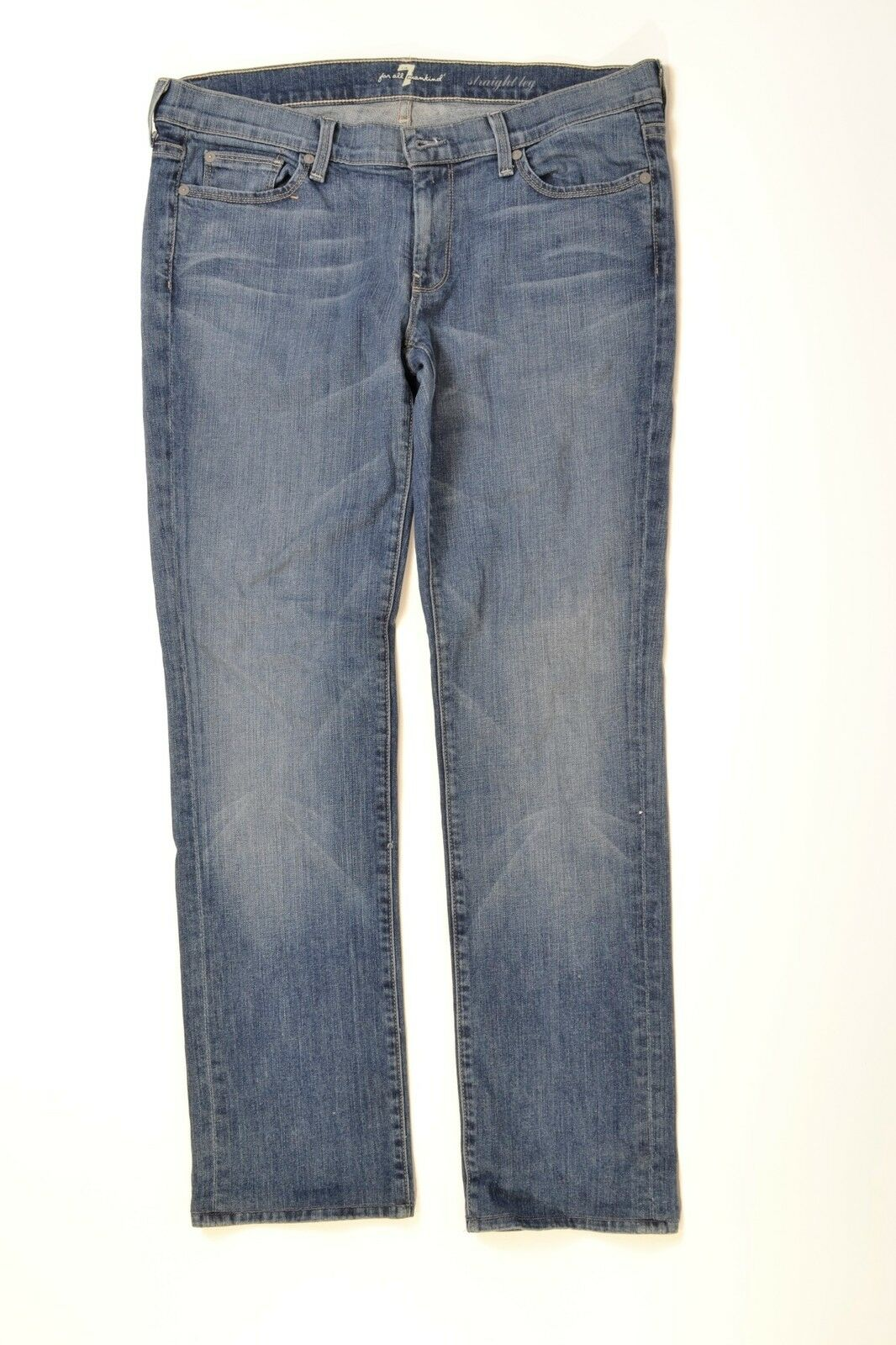 7 For All Mankind Embroidered Rue De Lille Wash Size 30 MRSP