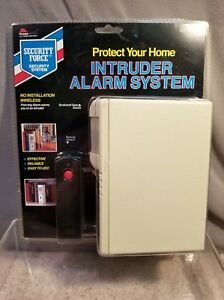 Image Is Loading New Security Force Intruder Alarm System Wireless Bookshelf