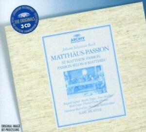 Munich-Bach-Orchestra-Karl-Richter-Bach-Matthaus-Passion-NEW-3CD