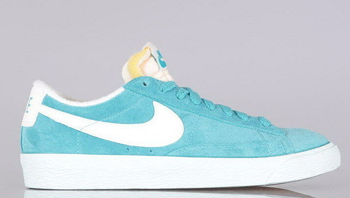 shoes NIKE BLAZER LOW suede vintage vntg - 517371 300