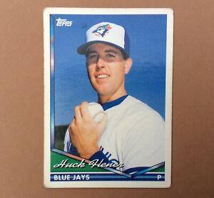 1994 TOPPS Carte BASEBALL n° 39 HUCK FLENER BLUE JAYS Trading Card