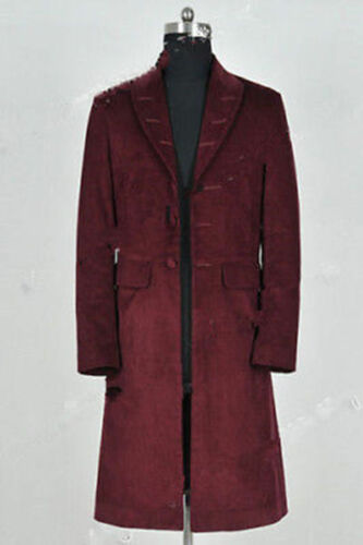 Doctor Who 4th Fourth Dr Cosplay Costume Trench Coat Party Costumes@3