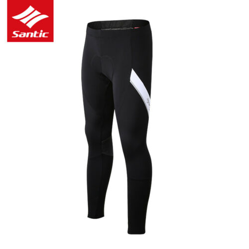 Men/'s Winter Cycling Pants Bike Padded Tights Cycling Pant Bicycle Riding Black