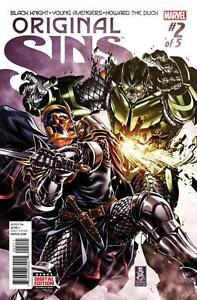 Original-Sins-2-First-Print-Unread-New-Near-Mint-Marvel-2014-Series-MD2
